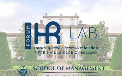 HR Lab Forum: Lean Thinking per le persone